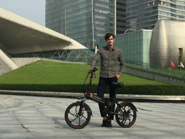 Samebike 20LVXD30 48V 10.4AH 350W 25km/h Electric Bicycle Foldable Electric E-Bike 30-40km Mileage with EU Plug Car & Vehicle Electronics