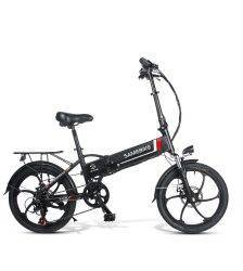 Samebike 20LVXD30 48V 10.4AH 350W 25km/h Electric Bicycle Foldable Electric E-Bike 30-40km Mileage with EU Plug Car & Vehicle Electronics