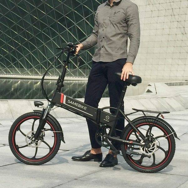 48V 350W Power Assist Electric Bicycle 20 Inch Folding Electric Bicycle E-Bike Scooter Motor Conjoined Rim Electric Bike Motor Car & Vehicle Electronics