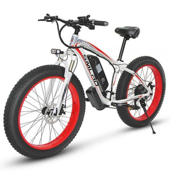 1000W Electric bicycle electric fat bike beach bike cruiser electric bike 48v 13ah lithium battery ebike electric mountain bike Car & Vehicle Electronics