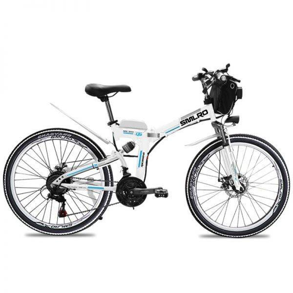 Foldable Electric Bike E Bicycle 26″ ebike 1000W 48V 20AH Battery Electric Mountain Bicycle with 21 Speeds Mens Mountain Bike Car & Vehicle Electronics