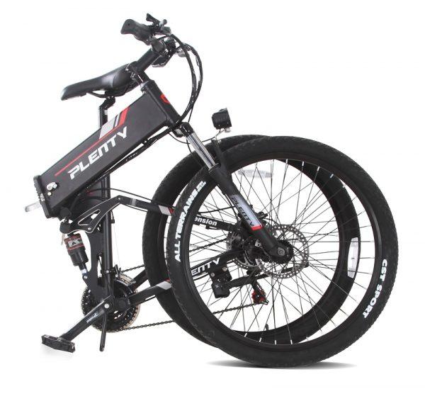 Eu Stock 500w Electric Moped Bike E-bike 21 Speed 48v 10AH Foldable E-bike Li-ion battery Three Riding 40km Mileage Car & Vehicle Electronics