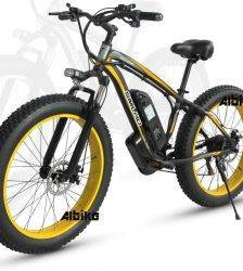 Electric bike 48V 1000W Electric Fat bicycle 17Ah Lithium battery ebike electric mountain bike Beach Bikes Electric Bicycles Car & Vehicle Electronics