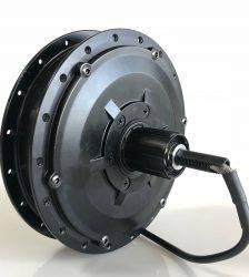 Bafang RM G040.500.DC geared hub motor 500W electric bike CST motor cassette rear drive disc brake black Car & Vehicle Electronics