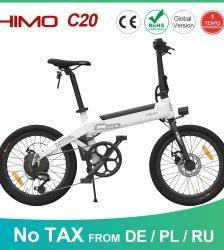 【EU Service 】HIMO C20 Electric Bicycle Moped E-Bike Power Assist 20 Inch 10AH 250W DC Motor 25km/h 80KM Range Portable Ebike Car & Vehicle Electronics
