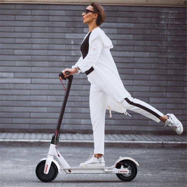 No Tax Door To Door Folding Electric Scooter For 8.5inch Wide Wheel Bicycle Scooter 7.8Ah 250W With App Commute Economic Car & Vehicle Electronics