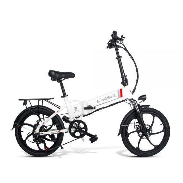 EU Stock Samebike 20LVXD30 Smart Folding Electric Bike Moped E-bike 20 Inch Tire Speed Electric Bicycle Car & Vehicle Electronics