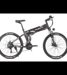 EU Stock 48V500w Electric Bike 21 Speed Foldable E-Bike 26″ 10AH Aluminum Alloy Electric MTB Bike With Three Riding Mode Car & Vehicle Electronics