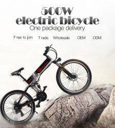 "electric bike 21 speed 10ah 48 v, 500 w built-in lithium battery, ebike electric bicycle 26 ""electric off road cap Booster bicy Car & Vehicle Electronics"