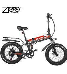 ZPAO Cheap Electric Fat Bike Beach Cruiser Bicycle Electric 500W 48V 12.8ah Lithium Battery Electric Mountain Bike Foldable Bike Car & Vehicle Electronics