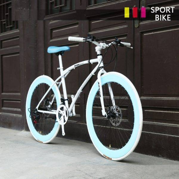 24 Speed Road Bike 26 Inch for Women Students Adults Car & Vehicle Electronics