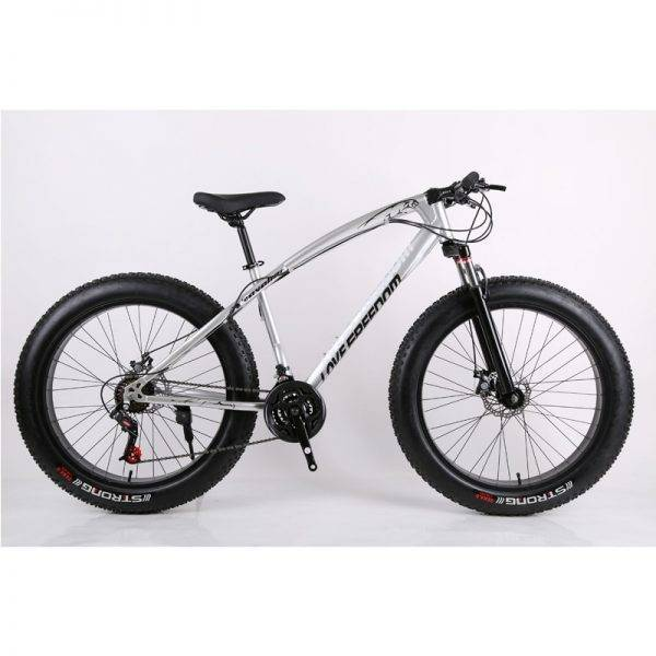 Mountain Bicycle 26-Inch 27-Speed Double Disc Brake Wide Tire Variable Speed Car Chopper Bike Bicycles for Women Car & Vehicle Electronics