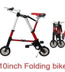 8 inch 10 inch folding bike women Mini bike Multi-function Folding bicycle frame Aluminum Alloy Children bicycle limited 80kg Car & Vehicle Electronics