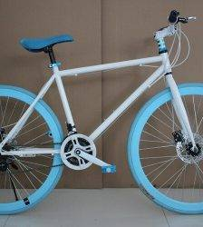 """Fashion new 26 """"disc brake variable speed die flying 30cm bicycle color men's and women's bicycles road bicycles Car & Vehicle Electronics"""