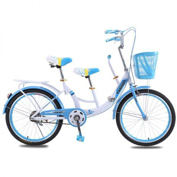 22/24 Inch Woman City Bike Three Seats for Mother and Child Car & Vehicle Electronics