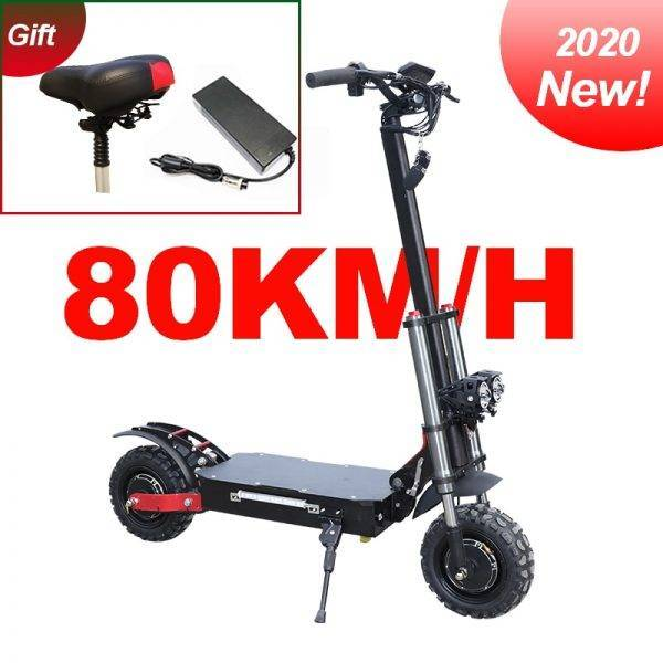 2020 dual motor e-scooter 80km/h high speed 3200W samsung battery 60V 35Ah electric scooter two wheel foldable skateboard Car & Vehicle Electronics