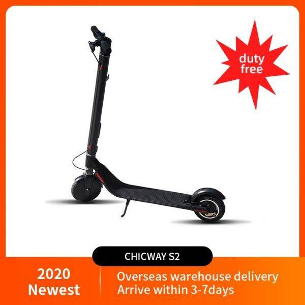 Hotest 8-inch Electric scooter CHICWAY S2 Cost-effective two-wheeled lightweight folding adult children scooter Ninebot Upgraded Car & Vehicle Electronics