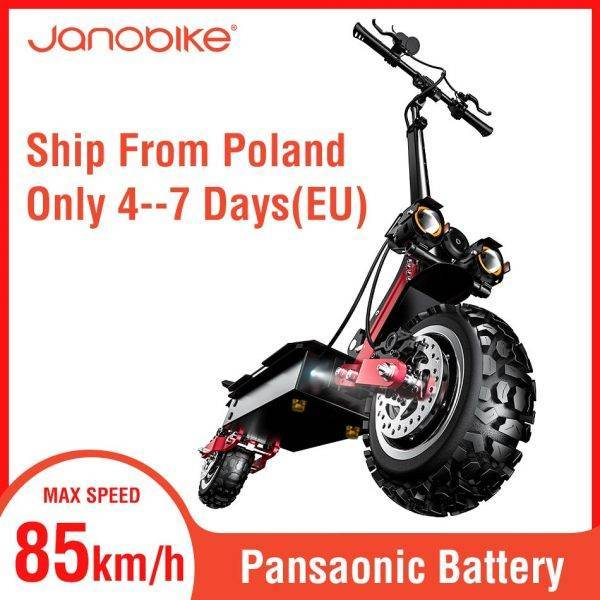 janobike 5600W T85 electirc scooter 85km/h scooter electric 32Ah Battery kick scooter with Hydraulic Brake Dual Drive Car & Vehicle Electronics