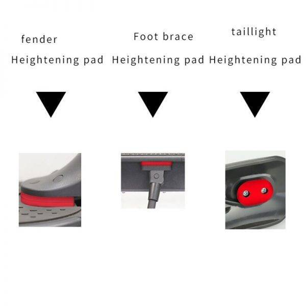 Upgraded Rear Mudguard Support Mounting Fender Extension for Xiaomi M365 /Pro Electric Scooter Fender Bracket Car & Vehicle Electronics