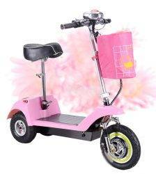 Adult Mini Foldable Electric Scooter 3 Wheel Lady Women Mini Electric Bike Bicycle Instead Of Walking 36V 300W Brushless Motor Car & Vehicle Electronics