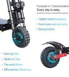 60V3200W Electric Scooter 11 inch Motor Wheel 20AH Lithium Battery Adult kick e scooter No tax folding patinete electrico adulto Car & Vehicle Electronics