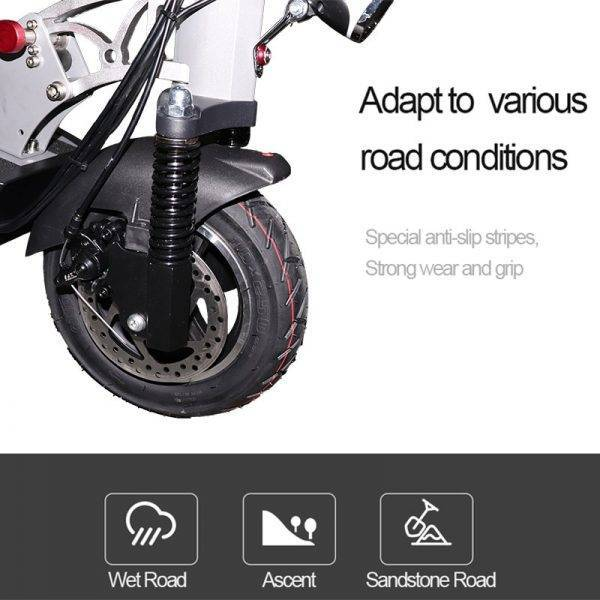 Over than 100km Adult Electric Scooter with seat 48v 500w foldable hoverboard new 48v 26a e scooter electric kick scooter Car & Vehicle Electronics