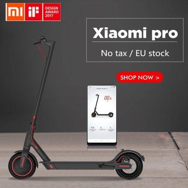 2019 Xiaomi Mi Electric Scooter Mijia M365 Pro Smart E Scooter Mini Foldable Skateboard Hoverboard Longboard Adult 45km Battery Car & Vehicle Electronics