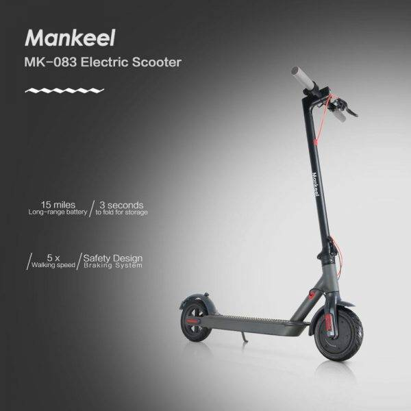 Electric Scooter 7.8ah 22KM Range 250W Power Sport Scooter with Smart App/LED Display Foldable Scooter EU INSTOCK Fast Shipping Car & Vehicle Electronics