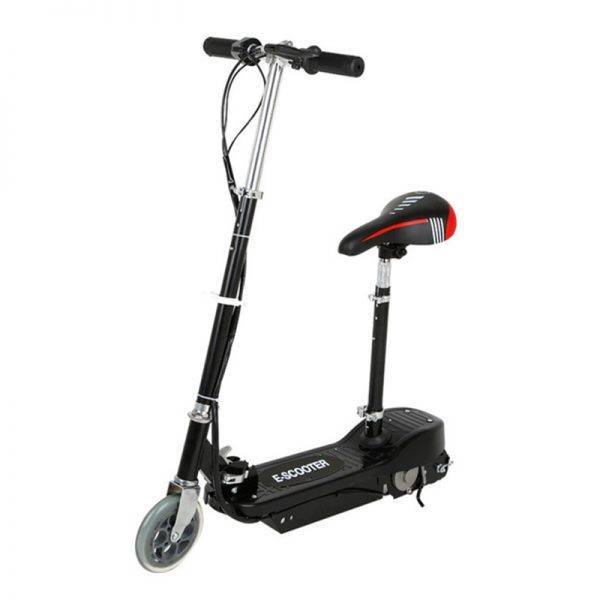 Adult Electric Scooter Folding Re-chargeable Mini E Scooter With Seat Foldable Electric Kick Scooter Car & Vehicle Electronics