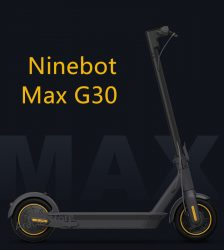 Original Ninebot Max G30 KickScooter Foldable Smart Scooter Electric Scooter Hoverboard 350W Power 30Km/h 10inch wheel Car & Vehicle Electronics