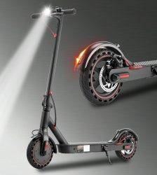 iScooter Electric Scooter Smart Folding Adult Electric Scooter Electric Skateboard With LED light 2 Wheels Free shipping No Tax Car & Vehicle Electronics
