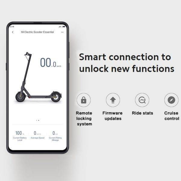 Xiaomi Mi Electric Scooter Essential MIJIA Smart E-Scooter Lite Skateboard Mini Foldable Hoverboard Patinete Electrico Adult Car & Vehicle Electronics