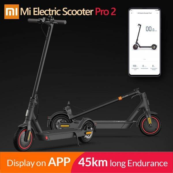 2020 Xiaomi Mi Electric Scooter PRO 2 MIJIA Smart E-Scooter Lite Skateboard Mini Foldable Hoverboard Patinete Electrico Adult Car & Vehicle Electronics