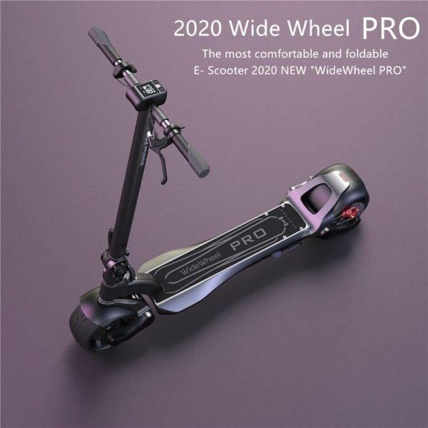 2020 New Original Mercane WideWheel Pro Smart Electric Scooter 48V 1000W Wide Wheel Kickscooter Dual Motor Disc Brake Skateboard Car & Vehicle Electronics