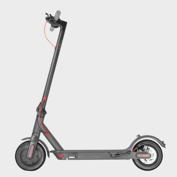 eu warehouse Adults Folding Electric Scooter 2 Wheel 500W Mini Foldable Kick e scooters 8.5inch Solid Tire App Function 25km/h Car & Vehicle Electronics