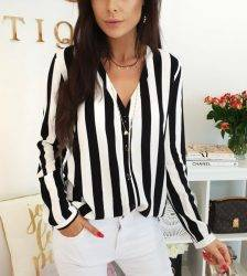 2019 New Blouse Women Casual Striped Top Shirts Blouses Female Loose Blusas Autumn Fall Casual Ladies Office Blouses Top Sexy Blouses & Shirts WOMEN'S FASHION