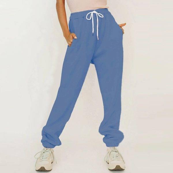 Miyouj Solid Color Casual Sweatshirt Sporting Shorts Women'S Suit Jogging Pants Autumn Winter 2020 Sportswear Clothes Woman Pant Suits WOMEN'S FASHION