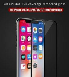 NILLKIN XD+ Glass Screen Protector For iPhone 11 Pro XR XS Max SE 8 Plus 3D Safety Protective Tempered Glass for iPhone XS Glass Cell Phones & Accessories Mobile Phone