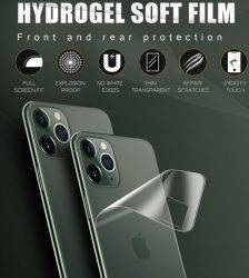 Full Cover For iPhone 11 Screen Protector 7 8 Plus Hydrogel Film For iPhone 11 Pro Back Film XR XS MAX X Camera Tempered Glass Cell Phones & Accessories