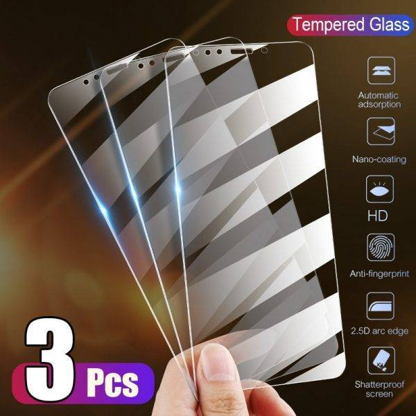 Full Cover Glass on the For iPhone X XS Max XR 12 Tempered Glass For iPhone 7 8 6 6s Plus 5 5S SE 11 Pro Screen Protector Cell Phones & Accessories Mobile Phone