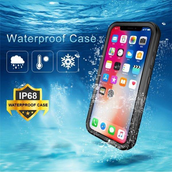 360 Full Protect For iPhone X Xs Max Xr Case Shockproof phone cover for iPhone 11 Pro 6s 7 8 Plus Cases Waterproof dust proof Cell Phones & Accessories Mobile Phone