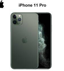 Original New iPhone 11 Pro/Pro Max Triple Rear Camera 5.8/6.5″ Super AMOLED Display A13 Chipset IOS 13 Smart Phone MI BlueTooth Cell Phones & Accessories Mobile Phone