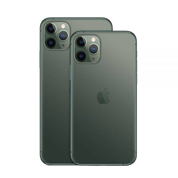 Original iPhone 11 Pro/Pro Max Triple Rear Camera 5.8/6.5″ Super AMOLED Display A13 Chipset IOS 13 Smart Phone MI BlueTooth Cell Phones & Accessories Mobile Phone
