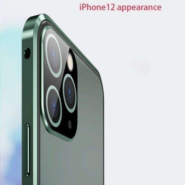 Metal Magnetic Case for iphone 11 case Bumper Glass Camera protection for iphone 11 pro max case cover coque fundas shell cases Cell Phones & Accessories Mobile Phone