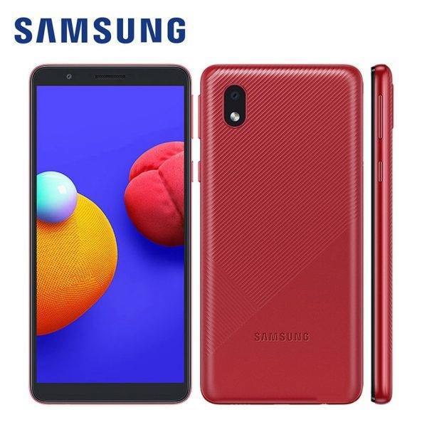 100% Original Samsung Galaxy A01 Core A013G/DS Global Mobile Phone Android 10 5.3″ 8MP 5MP 16GB ROM 1GB RAM 3000mAh Smartphone Mobile Phone