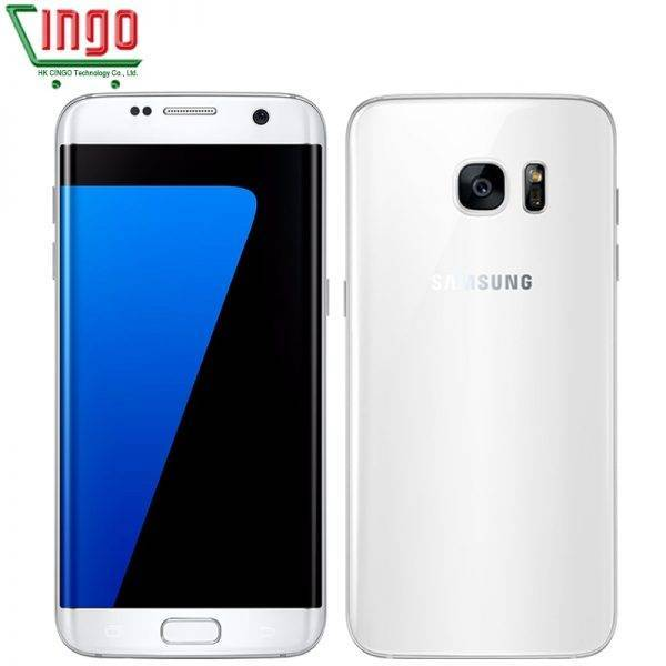 "Samsung Galaxy S7 Edge 5.5""4GB RAM 32GB ROM Waterproof Smartphone One SIM Quad Core NFC 12MP 4G LTE 3600mAh Cellphone Mobile Phone"