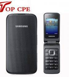 Original Samsung C3520 Unlocked Mobile phone Flip 1.3MP Black/Silver/Pink color 2.4″ 1 Years Warranty Mobile Phone