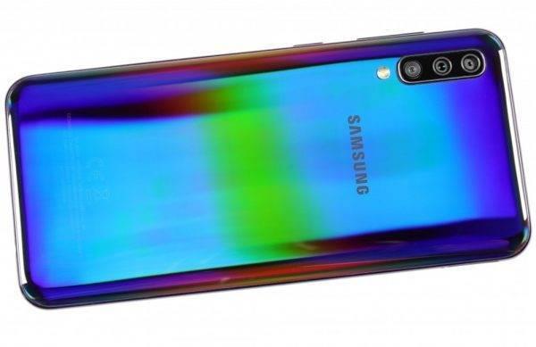 Original Samsung Galaxy A50 Octa-core 6.4 Inches 4GB RAM 64GB ROM 25MP Triple Rear Camera Android Smartphone Unlocked Cellphone Mobile Phone