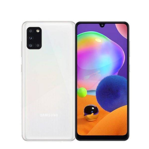 Global Version Samsung Galaxy A31 A315G/DS Mobile Phone 6GB RAM 128GB ROM Octa Core 6.4″1080×2400 5000mAh 4Camera NFC Android 10 Mobile Phone