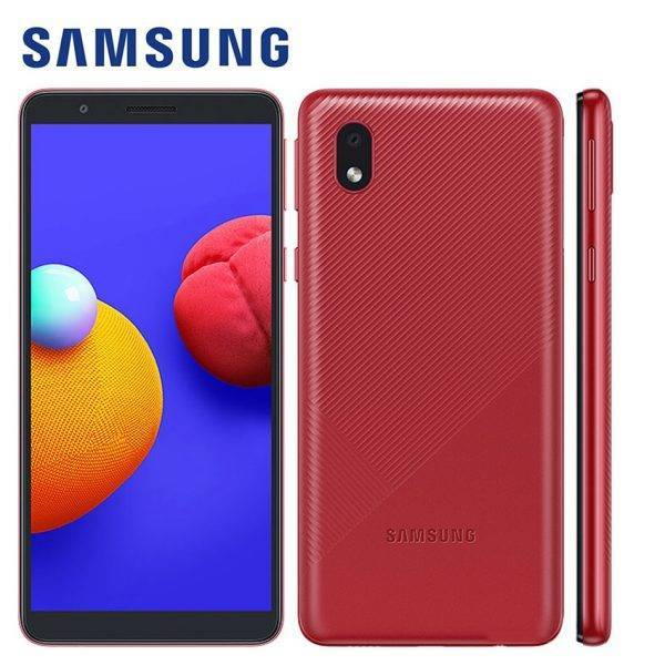 Brand New Original Samsung Galaxy A01 Core A013G/DS Mobile Phone Android 10 5.3″ 8MP 5MP 16GB ROM 1GB RAM 3000mAh Smartphone Mobile Phone